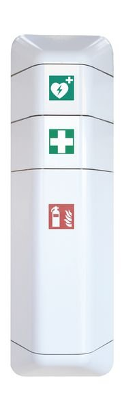 Feuerlöscher-Schränke und Erste-Hilfe-Aufsätze
