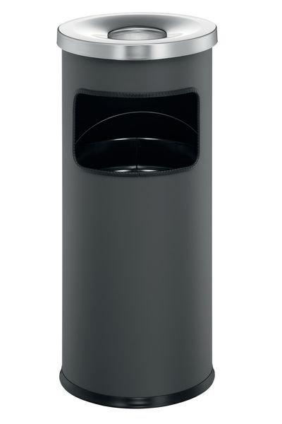 DURABLE Abfallbehälter mit selbstlöschendem Ascher