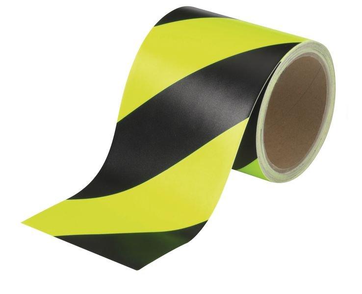 Warnbänder, fluoreszierend und langnachleuchtend