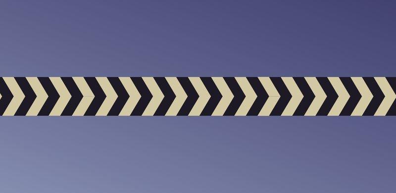 Everglow® Warnprofil - Fluchtwegkennzeichnung, bodennah, langnachleuchtend, ASR A3.4/3