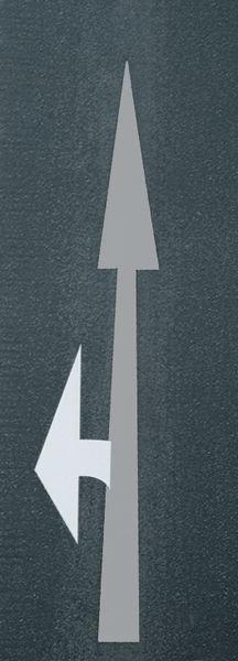 Zusatzpfeile links/rechts – PREMARK Straßenmarkierungen, Symbole