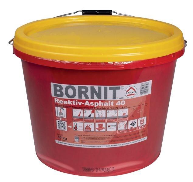 BORNIT® 2-Komponenten Reaktiv-Asphalt, grobkörnig