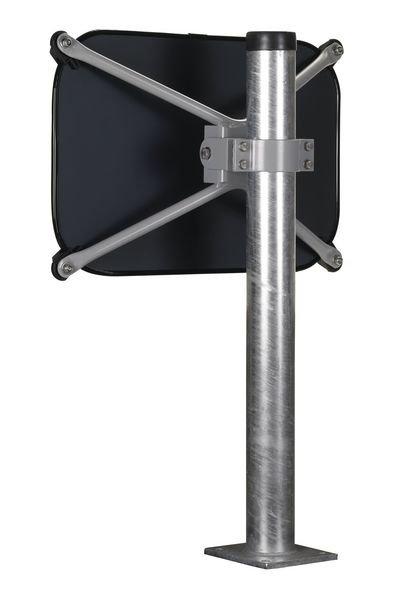Rohrpfosten-Befestigungen für Verkehrsspiegel