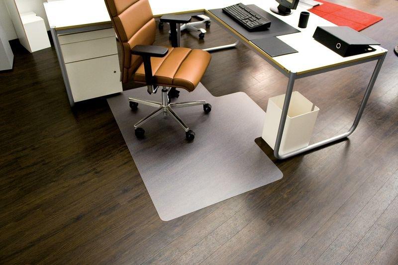Bürostuhlunterlagen, naturschonend, geruchsneutral, eckig