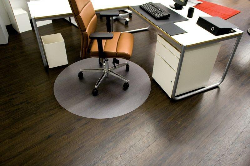 Bürostuhlunterlagen, naturschonend, geruchsneutral, rund