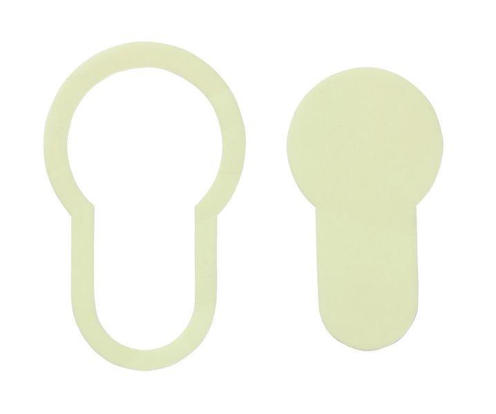 Everglow® Türschlossmarkierung - Fluchtwegkennzeichnung, bodennah, langnachleuchtend, ASR A3.4/3