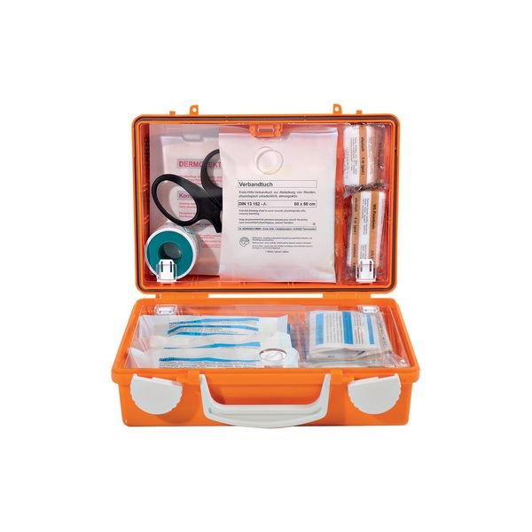 SÖHNGEN Erste-Hilfe-Koffer, gefüllt nach DIN 13157