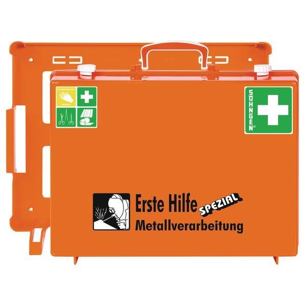 """SÖHNGEN Erste-Hilfe-Koffer """"Spezial"""" und Nachfüllpackungen für Metallverarbeitung, ÖNORM Z1020 Typ1"""