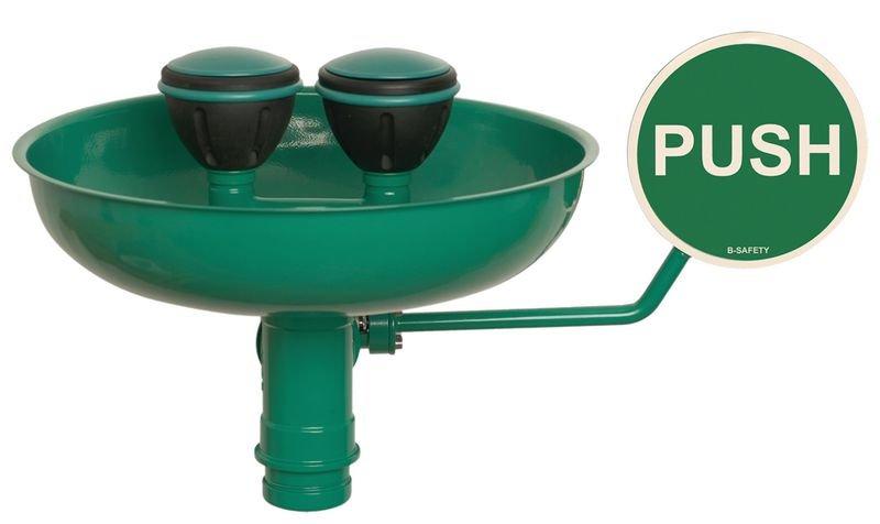 B-Safety Sicherheits-Augenduschen mit Becken, DIN EN 15154-2:2006