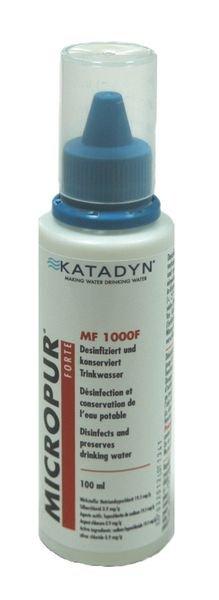Antibakterieller Zusatz für Tank-Augenspülstation