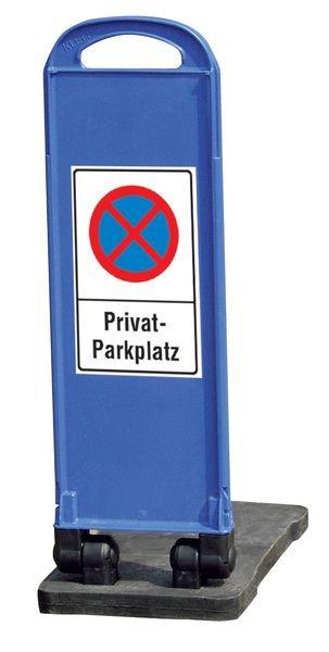 Haltverbot Privatparkplatz – Parkbaken, mobil