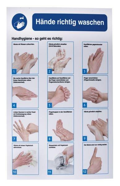 Sicherheitshinweis Handhygiene