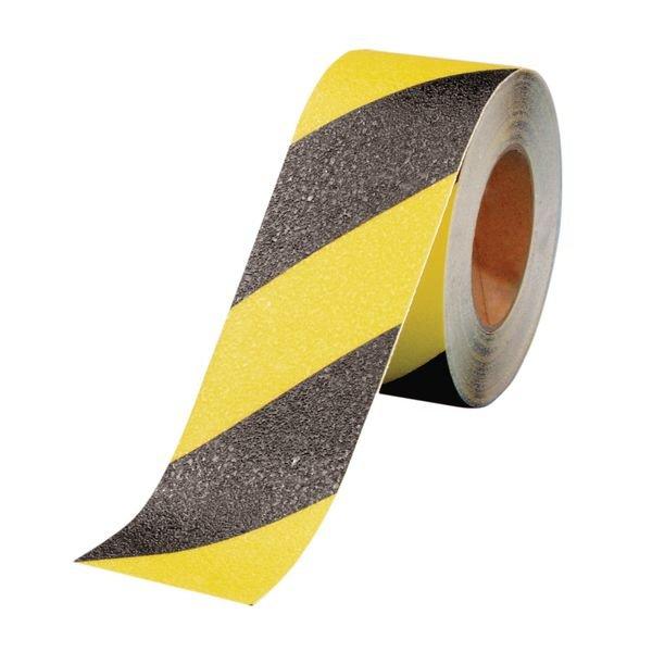 Warnbänder mit Antirutsch-Oberfläche