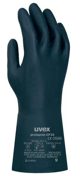 uvex Chemie-Schutzhandschuhe, Neopren