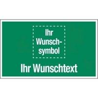 Erste-Hilfe-Kombi-Schilder, praxiserprobt mit Symbol und Text nach Wunsch