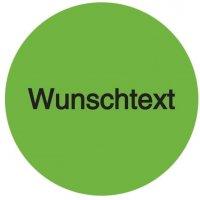 Rollen-Etiketten aus PVC-Folie mit Text und Logo nach Wunsch, rund, fluoreszierend