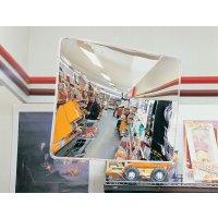 Innenspiegel aus Acrylglas, rechteckig