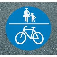 Gemeinsamer Geh- und Radweg - PREMARK Straßenmarkierungen, Verkehrszeichen