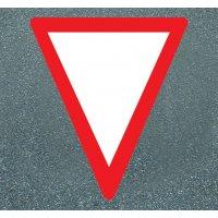 Vorfahrt gewähren - PREMARK Straßenmarkierungen, Verkehrszeichen