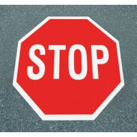 Halt! Vorfahrt gewähren – Asphaltfolie zur Straßenmarkierung, R10 nach DIN 51130/ASR A1.5/1,2