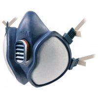 3M™ Einweg-Doppelfilter-Halbmasken, Kompakt, EN 405