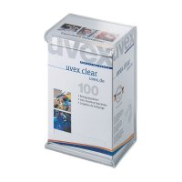 uvex Feuchtreinigungstücher für Arbeitsschutzbrillen