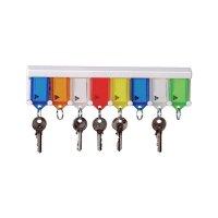 Schlüsselanhänger mit Trägerschiene
