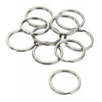 Stahl-Schlüsselringe, flach