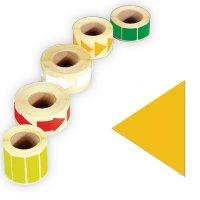 Papier-Dreiecke, beschriftbar, auf Rolle