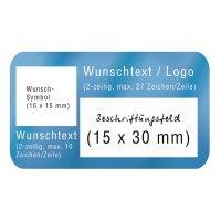 Selbstlaminierende Etiketten zur Maschinenkennzeichnung, individuell, PVC, stark haftend