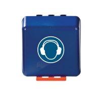 Gehörschutz benutzen - Aufbewahrungsboxen für Schutzausrüstung
