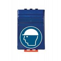 Kopfschutz benutzen - Aufbewahrungsboxen für Schutzausrüstung
