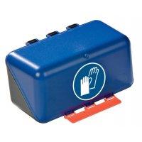 Handschutz benutzen - Aufbewahrungsboxen für Schutzausrüstung