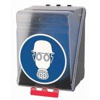 Helm und Atemschutz benutzen - Aufbewahrungsboxen für Kombi-Schutzausrüstung