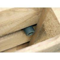 Arretierungsnocken für Europaletten - Auffangwannen aus Polyethylen