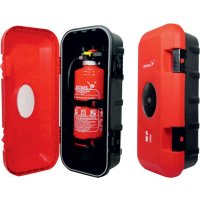 Feuerlöscher-Schutzbox, Kompakt