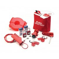 BRADY Lockout/Tagout Verriegelungs-Set, klein, verstellbar