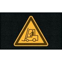Schlingenmatten mit Sicherheitssymbolen, R11 nach DIN 51130/ASR A1.5/1,2