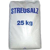 Streusalz, Streumittel gegen Glatteis, 25 kg Sack