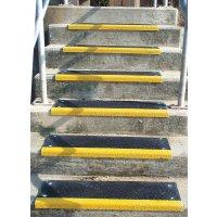 Treppenkanten-Profile, mit Quarzkristallen