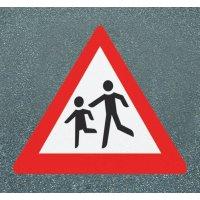 Achtung Kinder - PREMARK Straßenmarkierungen, Verkehrszeichen