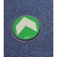 Everglow® Teppich-Bodenmarkierungspfeile - Fluchtwegkennzeichnung, bodennah, langnachleuchtend, ASR A3.4/3