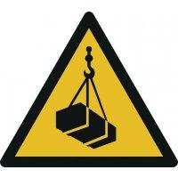 Warnung vor schwebender Last - Warnzeichen zur Bodenmarkierung