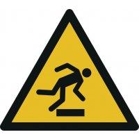 Warnung vor Hindernissen am Boden - Warnzeichen zur Bodenmarkierung
