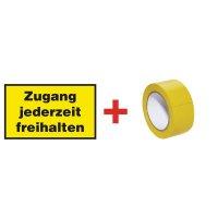 Hinweise – Bodenmarkierung-Sets, rechteckig, DIN EN ISO 7010