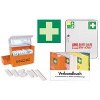 Erste-Hilfe-Schrank-Set für Schulen