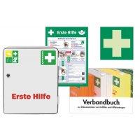 Erste-Hilfe-Schrank-Sets nach DIN 13157