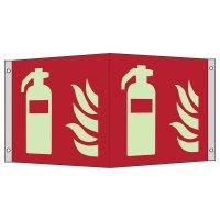 """Internationale Brandschutzzeichen-Schilder """"Feuerlöschgerät"""" nach ASR A1.3:2013 und EN ISO 7010"""