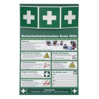 Sicherheitsinformationen für die Erste Hilfe