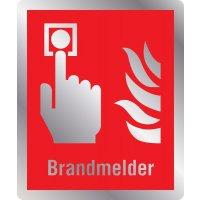 Brandmelder - Brandschutzschilder mit Symbol und Text, ASR A1.3-2013, DIN EN ISO 7010